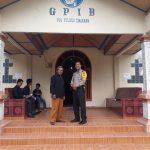 Anggota Polres Kampar Pengamanan Gereja GPIB