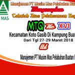 Manajemen PT Musim Mas Mengucapkan Tahniah Atas Pelaksanaan Mtq Ke XVI Kecamatan Koto Gasib