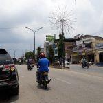 Lampu jalan di Baganbatu banyak yang rusak