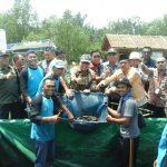 Bupati Meranti Panen Raya Ikan Keli Kerjasama UR dan ICCTF di Desa Sungai Tohor
