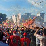 Ribuan Wisatawan Mancanegara Hadiri Ritual Bakar Tongkang