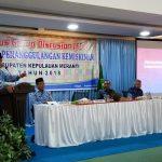 Wakil Bupati Meranti Ikuti Focus Group Discusion (FGD) Upaya Penanggulangan Kemiskinan Kabupaten Kepulauan Meranti