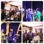 Bupati Siak Alfedri Terima Penghargaan KLA Nindya Dari Menteri Yohana Yambise