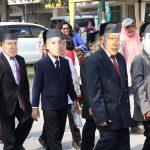 Tujuh Wajah Pemimpin Negara Ramaikan Karnaval Budaya HUT RI ke-74 di Siak