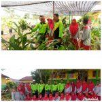 Ikuti Program Adiwiyata, Tim Penilai Adiwiyata dari Kabupaten Rohil Lakukan Penilaian di SD N 018 Balai Jaya