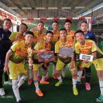Tim Futsal SMA Negeri 1 Kandis Juara I Liga Pelajar Hydro Coco Riau