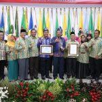 Satu-satunya di Riau, Pemkab Siak Terima Anugerah Swasti Saba Kategori Wiwerda Tahun 2019.