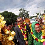 Feri Paria hadiri pelantikan DPW PGMI  Riau dan DPD PGMI Rohil