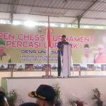 Bupati Siak Buka Open Chess Turnamen Percasi Cup Siak I