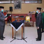 Jamaluddin Kembali Dilantik Menjadi Penjabat Sekda Kabupaten Siak.