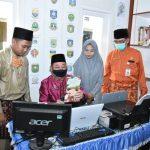 Plh Bupati Bengkalis Pastikan Kesiapan Perpustakaan Encik Nurlela Desa Balai Pungut