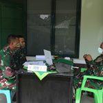 Tim Current Audit  Itkostrad Gelar Wasrik Di Yonarmed 12/Divif 2 Kostrad