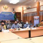 Plh. Bupati Bengkalis Ikuti Vidcon Bersama Menko Polhukam Mahfud MD