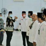 Terapkan Protokoler Kesehatan Covid-19,Alfedri Lantik pengurus MUI dan IPHI Kecamatan Lubuk Dalam.