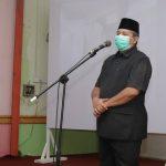 Bupati Alfedri Minta Perusahaan Jalani Protokol Kesehatan
