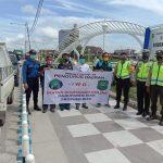 PD IWO Kab siak Bagi-Bagi Masker Kepada Masyarakat Kecamatan Sungai Apit