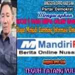 Anggota DPRD Siak,Teguh Tatang Yulianto Mengucapkan Hut ke 5 Mandiripos.com.