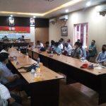 Polres Rohil gelar Rakor bersama pemkab, perusahaan dan serikat pekerja.