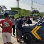 Polsek Lubuk Dalam Polres Siak Melakukan Kegiatan Operasi Yustisi