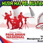 PT .Musim Mas Pelabuhan Buatan II ,Selamat Hari Pahlawan Nasional