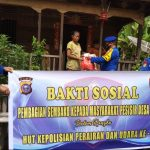 HUT Polairud Ke-70, Satpolair Polres Kepulauan Meranti Bagi-bagi Sembako