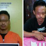 Dalam 1 hari, Polsek Bagan Sinembah Ringkus 2 Orang Pengedar Narkoba