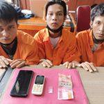 Tiga Pemuda Tualang Kembali Diringkus Tim Opsnal Satresnarkoba Polres Siak