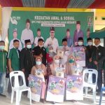 Kegiatan amal dan sosial bakti DPC PKB Kepulauan Meranti Bagikan 250 Paket Beras Kepada Masyarakat