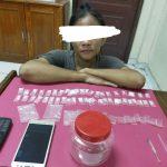 Waduh,Simpan 47 Paket Diduga Narkotika Jenis Sabu,Seorang Wanita Ditangkap Satresnarkoba Polres Siak