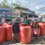 Mengunakan dana peribadi Kegiatan Amal Dan Sosial Dr, Hafizan Abas, S, Ag.M.pd, membagikan PAh air kepada masyarakat
