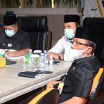 DPRD Gelar Rapat Paripurna, Tetapkan Alfedri – Husni Paslon Bupati – Wakil Bupati Terpilih