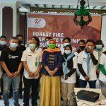 Peduli Karlahut, UKM Mapala Laksamana Polbeng Menjadi Peserta Forest Fire Response Training in Sumatera