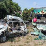 Kecelakaan maut antara Bus Intra vs Mobil Avanza di Tebingtinggi, Sumatera Utara, HIKATAMA ingatkan soal 5 Pilar Keselamatan Jalan.