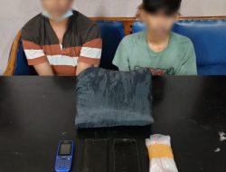Mantap, Dua Orang Kurir Narkoba Berhasil Ditangkap