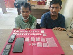 Dua warga kecamatan Dayun Di tangkap Satres Narkoba Polres Siak