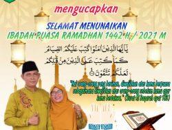 Pemerintahan Kampung Pangkalan Pisang Mengucapkan Selamat Menjalankan Ibadah Puasa Ramadhan 1442 H