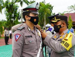 Polres Siak Laksanakan Apel Gelar Pasukan Ops Keselamatan Lancang Kuning 2021
