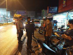 Antisipasi Tindak Kriminalitas, Polsek Bagan Sinembah Laksanakan Patroli Malam