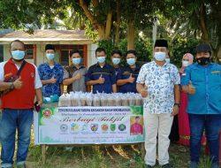 Camat Basira Puji kegiatan Pemuda di Basira, Serta Ikut Bagikan Takjilan di Jalan Basira
