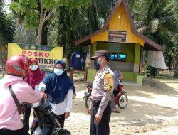 Polsek Bagan Sinembah, Rutin Laksanakan Giat PPKM di Wilkumnya