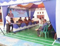 Jemput Aspirasi Warga, Anggota DPRD Fraksi Nasdem Reses di Kepenghuluan Bagan Bakti