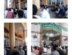 Sholat eid di mesjid An nur tetap patuhi prokes C-19