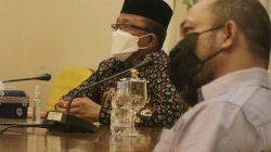 Sekda Arfan Mengikuti Rakev Virtual Perkembangan Pelaksanaan PPKM Mikro Bersama Ketua KPC-PEN